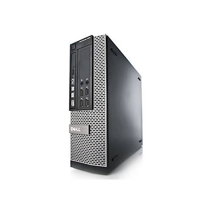 Dell OptiPlex 990 SFF Quad Core Computer  i5-2400 4GB 250GB HDD Windows 10 Professional 64 BIT Desktop - A Grade Certified Refurbished