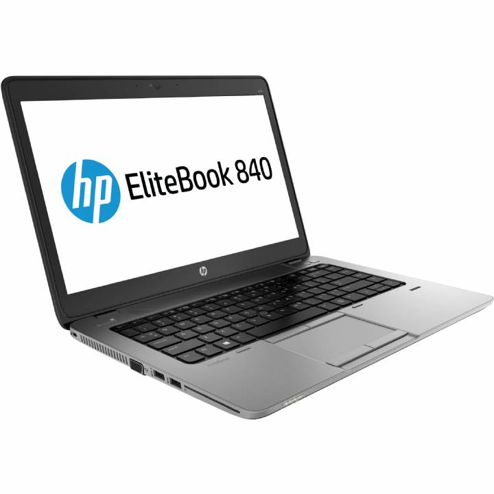 HP EliteBook 840 G1 Refurbished Laptop Intel Core i5 4th Gen 8Gb Memory 180Gb SSD Wifi Windows 10 Professional Grade A