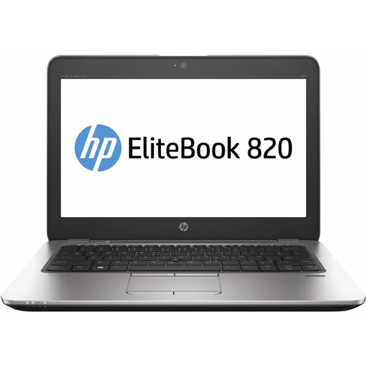 HP EliteBook 820 G2 Ultrabook 12.5 Inch  (Intel Core i5 5th Gen, 8GB Memory, 256GB SSD, WiFi, WebCam, Windows 10 Professional) (Refurbished)